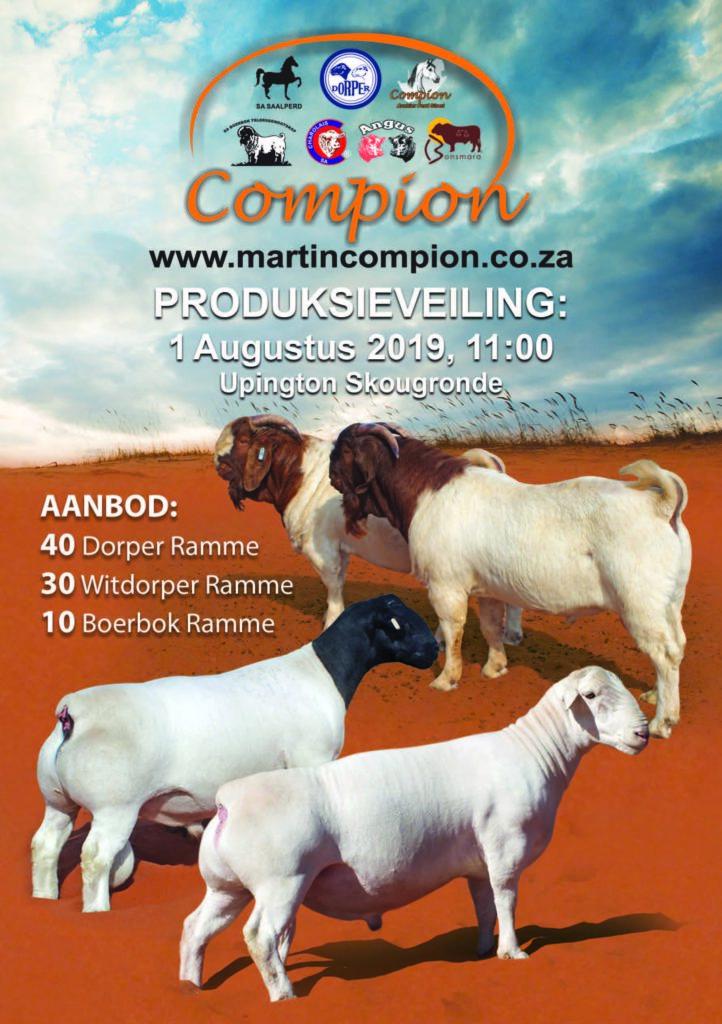 [:en]Martin Compion Production Auction Upington[:af]Martin Compion Produksieveiling Upington[:]