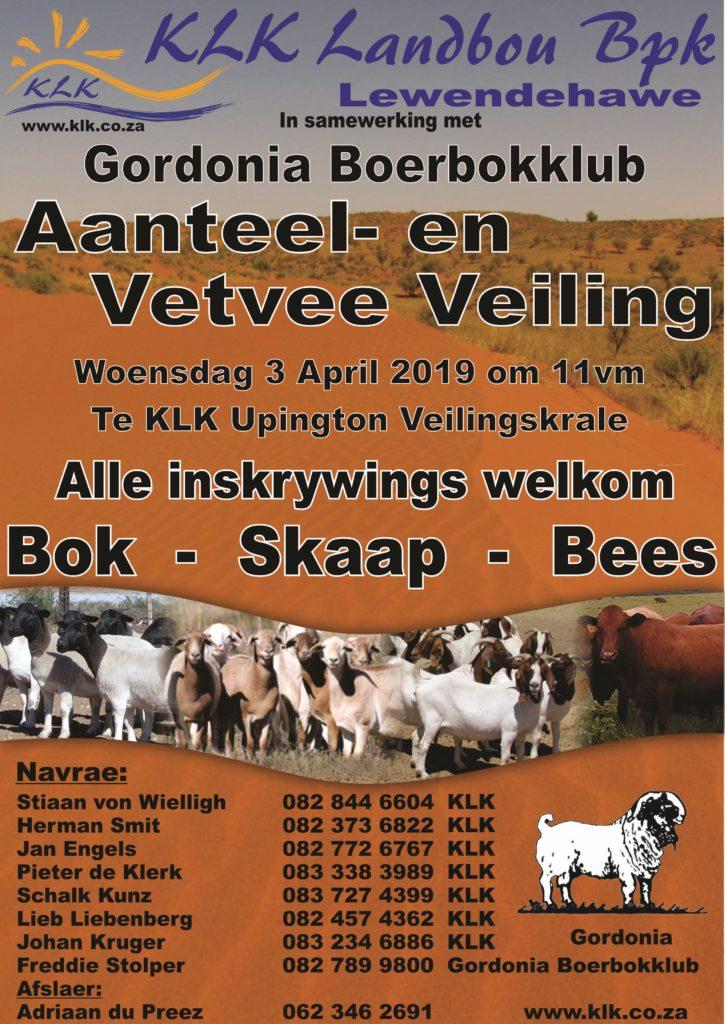 [:en]KLK Vetvee & Aanteelveiling together with Gordonia Boerbokklub[:af]KLK Vetvee & Aanteelveiling tesame met Gordonia Boerbokklub[:]