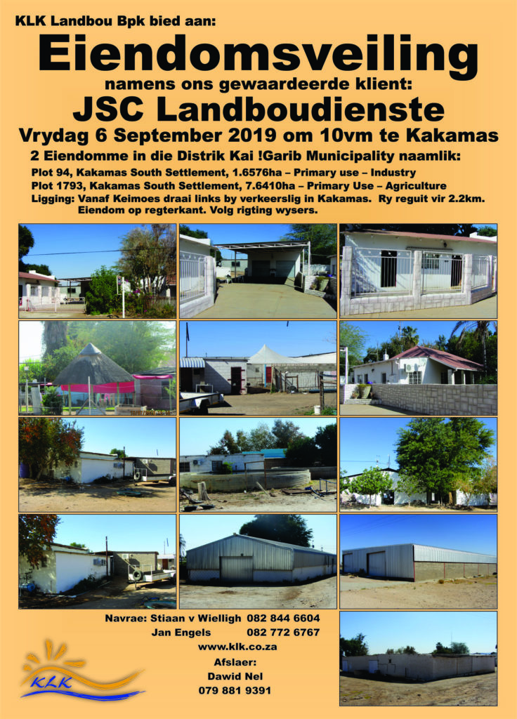 Eiendomsveiling – JSC Landboudienste